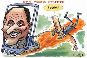 """Dog whistle politics. """"Bugger!"""" 21 January, 2006"""