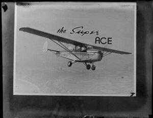 Chrislea Ace aircraft, G-AKFD in flight