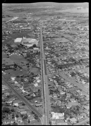 Widening of Great South Road, Harp of Erin South, Auckland