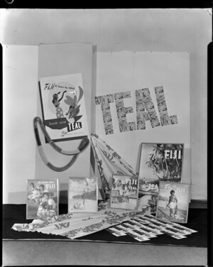 Tasman Empire Airways Ltd, Fijian display