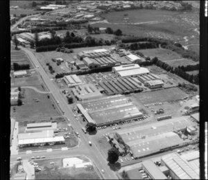 Industrial area, Rosebank Road, Avondale, Auckland
