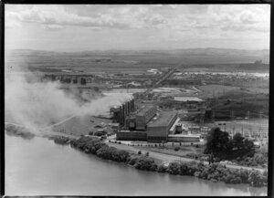 Meremere Power Station, Waikato Region