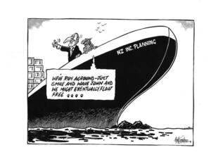 Hubbard, James, 1949-:'We've run aground - just smile and wave John and we might eventually float free...' 7 October 2011