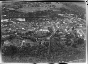 Roman Catholic Convent Girls School, with Virginia Lake, Wanganui