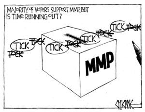 Winter, Mark 1958- :Majority of voters support MMP... 5 November 2011