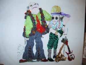 Embroidery Cartoon [1], 2003