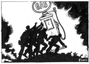 Evans, Malcolm, 1945- :Gas. New Zealand Herald, 7 April 2003.