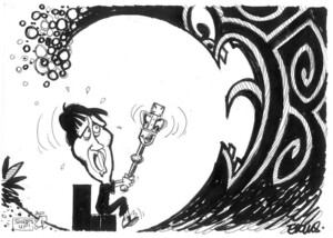 Evans, Malcolm, 1945- :Surf's up. New Zealand Herald, 14 July 2003.