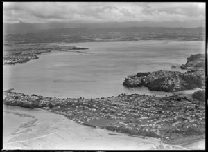 View of Northcote and Waitemata Harbour