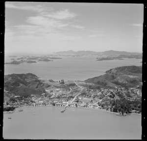View of Russell, Bay of Islands, New Zealand