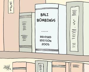 Bali bombings. Revised edition, 2005. 5 September, 2005.