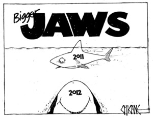 Winter, Mark 1958- :Bigger JAWS. 29 December 2011