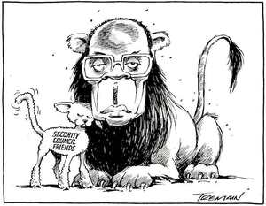 [Mugabe with] 'Security Council friends'. 14 July, 2008