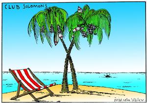CLUB SOLOMONS. Sunday News, 15 August 2003