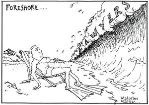 FORESHORE... Lawyers. Sunday News, 19 November 2004