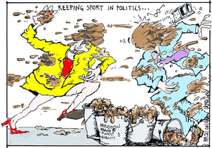 KEEPING SPORT IN POLITICS... 22 September 2006