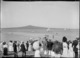 Crowd on Cheltenham Beach, Devonport
