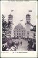 [Postcard]. New Zealand International Exhibition. No. 2 - The main entrance. Webb, photo. Smith & Anthony Limited [1906].