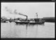 The paddle steamer Lyttelton, in Auckland Harbour - Photographer unidentified