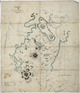 Cussen, William, 1849?-1901 :Tracing of country round Tokaanu [ms map]. Compiled from surveys by W. Cussen, Auth. survr.