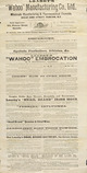 """Loasby's """"Wahoo"""" Manufacturing Co., Ltd.: ... Loasby's """"Wahoo"""" embrocation is a sovereign remedy ... """"Snail Brand"""" irish moss, quinine & steel wine, emulsion of cod liver oil ... ca 1895."""