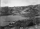 Overlooking Akaroa, harbour and surrounding hills - Photograph taken by Jessie Buckland