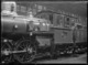 A class steam locomotive, NZR number 415 showing the wind screen, at the Petone Railway Workshops