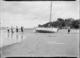 Preparing to sail, Sulphur Beach, Northcote