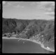 Aerial view of Days Bay, Lower Hutt, New Zealand